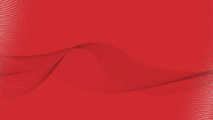 Red background with grey wave & white dot graphics